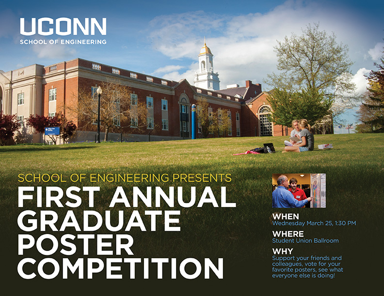 UConn SoE - First Grad Poster Competition